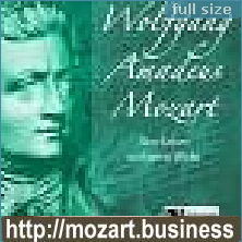 Hörbuch: Wolfgang Amadeus Mozart - Sein Leben und seine Werke