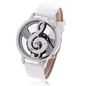Violinschlüssel Armbanduhr