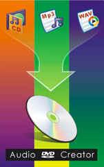 DVDs erstellen mit Audio DVD Creator / Music DVD Creator