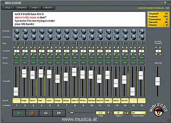 MIDI-Eddie - Midifile Editor