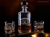 Edle Whiskeykaraffe mit Gravur